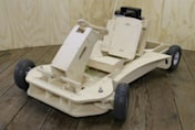 Wooden go kart good for 25mph and can be built in a few hours