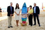 Kate Middleton hits the beach on Royal Tour of Australia