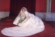 Princess Diana's wedding gown returned to Prince Harry and Prince William