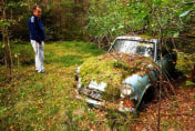 Man returns to abandoned car 40 years later