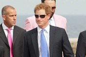Prince Harry, Princess Eugenie and Pippa Middleton attend wedding in Italy