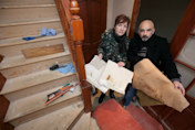 Couple's horror at the disgusting state of their 'dream' home