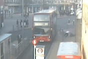 Bus driver's fight with passenger 'over fare' caught on CCTV