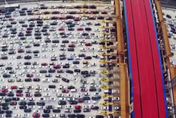 New checkpoint causes huge tailbacks on Chinese highway