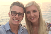 Rebecca Adlington shares beautiful honeymoon photos
