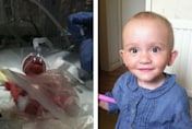 1lb 4oz baby born three months early is now a thriving toddler
