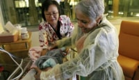 Hospitals Use Baby Cuddlers To Soothe Stressed Out N