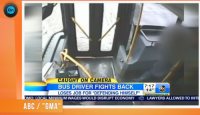 Bus Driver Fired After Fight With Teen and Crash Into Parked Cars