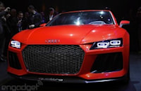 Audi's Sport Quattro Laserlight concept officially debuts at CES