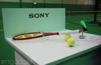 Sony's Smart Tennis Sensor hits Japan in May, offers topspin advice for $175