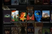 This is what Plex looks like on Android TV