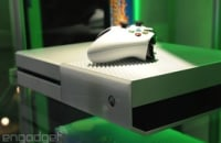 Here's a closer look at the white Xbox One and its Call of Duty-themed brother