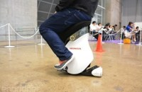 Honda's latest robotic stool is fun to ride, still impossible to buy