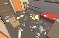 All of your feline fantasies come true in 'Catlateral Damage'