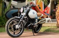 BMW's concept motorcycle carries your surfboard