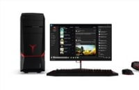 Lenovo's latest gaming PCs are faster and flashier