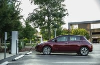 The 2016 Nissan Leaf touts 107-mile range thanks to a larger battery