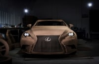 Lexus made a working electric car out of cardboard