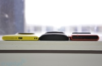 Spot the pattern: Nokia Lumia 1020 hangs out with 808 PureView and N8