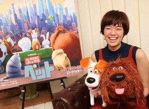 最強笑顔美女・佐藤栞里に直撃! 声優に初挑戦した映画『ペット』は「自然と笑顔になれる作品」