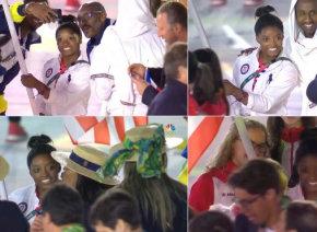 【リオ五輪】米女子体操金メダリスト、シモーネ・バイルズ選手が閉会式で大人気!「一緒に自撮りを」と選手たちが殺到