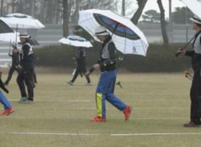 【リオ五輪】韓国アーチェリー選手たちの「傘」が目立ちまくり!