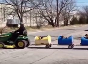 車掌は80歳のおじいちゃん テキサス名物「ワンコ電車」の誕生秘話に世界中が感動の嵐【動画】