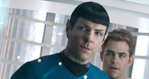 'Star Trek Into Darkness' Unscripted: Ask Chris Pine, J.J. Abrams, & Zachary Quinto a Question!
