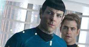 'Star Trek Into Darkness' Exclusive Clip: Kirk and Spock Narrowly Escape! (VIDEO)