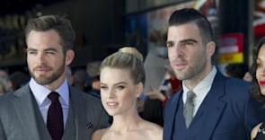 'Star Trek Into Darkness' London Premiere: Zoe Saldana, Alice Eve Stun (PHOTOS)