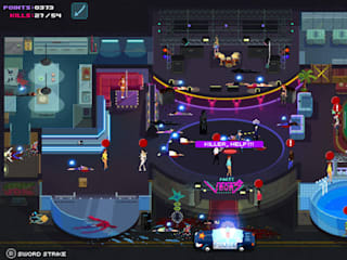A light-hearted game of mass murder in 'Party Hard'