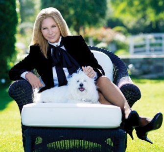 Barbra Streisand couldn't have posted a more perfect 1st Instagram photo