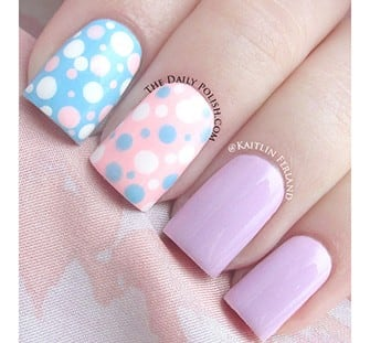 Mani Monday: Polka Dot Nails