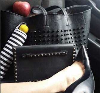 Eva Chen's bargain bag: You'll never guess where she got it!