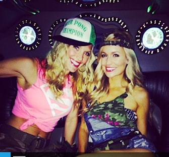 "Emily Maynard's ""white trash bash"" bachelorette party"