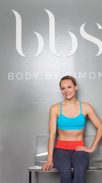 Fitness guru Simone De La Rue shares her secrets to getting a dancer's body