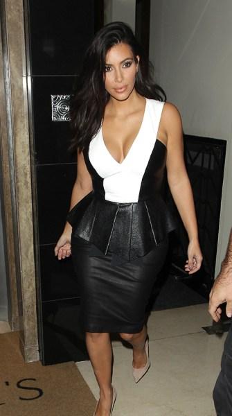Kim Kardashian's wardrobe malfunction: Butt rips skirt at the seams