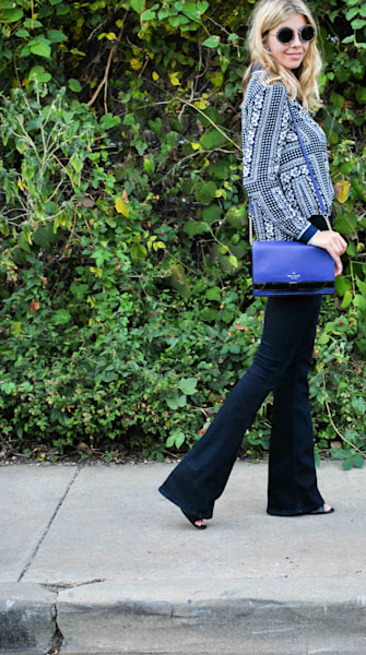 Street style tip of the day: Flare flaunt
