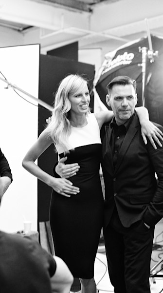 An EXCLUSIVE behind-the-scenes look at Roland Mouret for Banana Republic