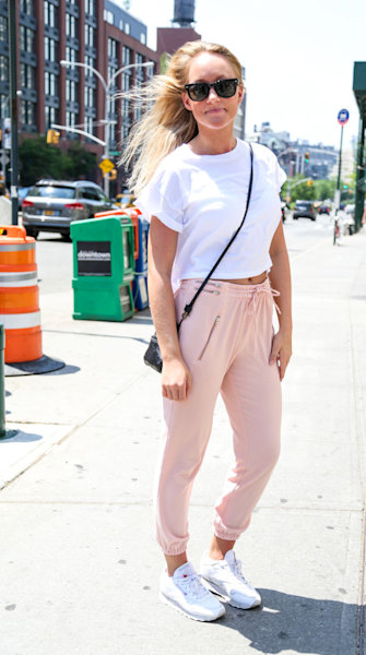 See how New Yorkers are dressing for early summer weather