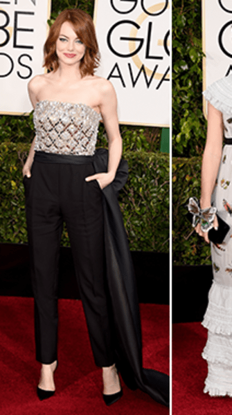 Best and worst dressed at the 2015 Golden Globe Awards