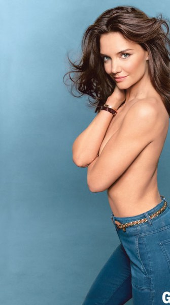 Top 9 at 9: Katie Holmes goes topless for Glamour, plus more style news