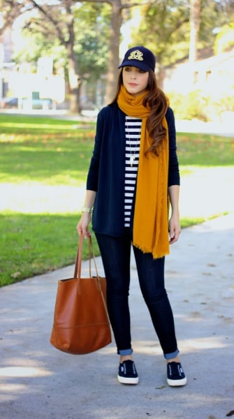 Street style tip of the day: Mustard