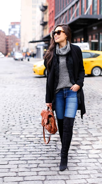 Street style tip of the day: Winter staples