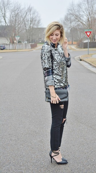 Street style tip of the day: Add some sparkle