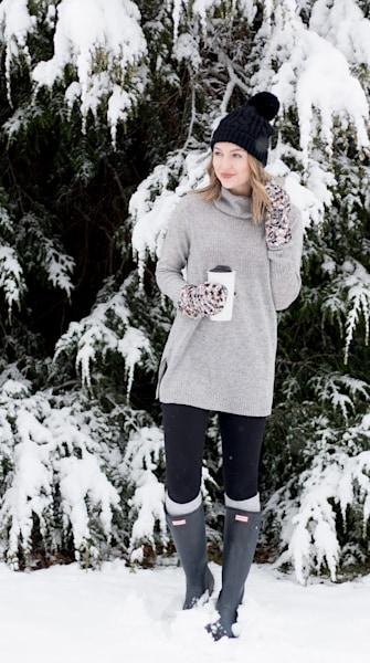 Street style tip of the day: Snowfall