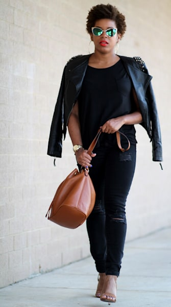 Street style tip of the day: Black out