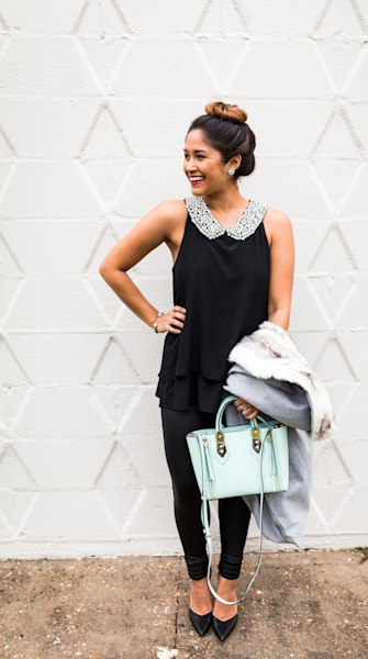 Street style tip of the day: Ladylike style