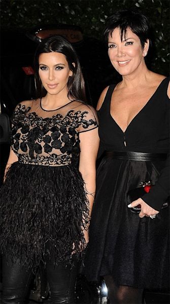 Like Mother, Like Daughter? Kim and Kris Swap Valentino