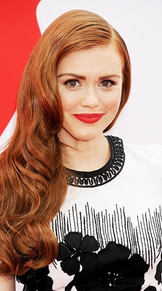 Look of the Week: Holland Roden's Striking Red Lip